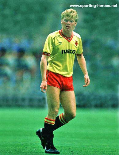 Maurice Johnston - Watford FC - League appearances.
