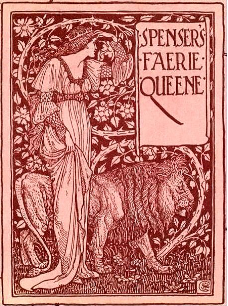 Spenser's Faerie Queene. A poem in six books, illustrated by Walter Crane, 1895 Keats was given this in 1813 by Clarke (his teacher)