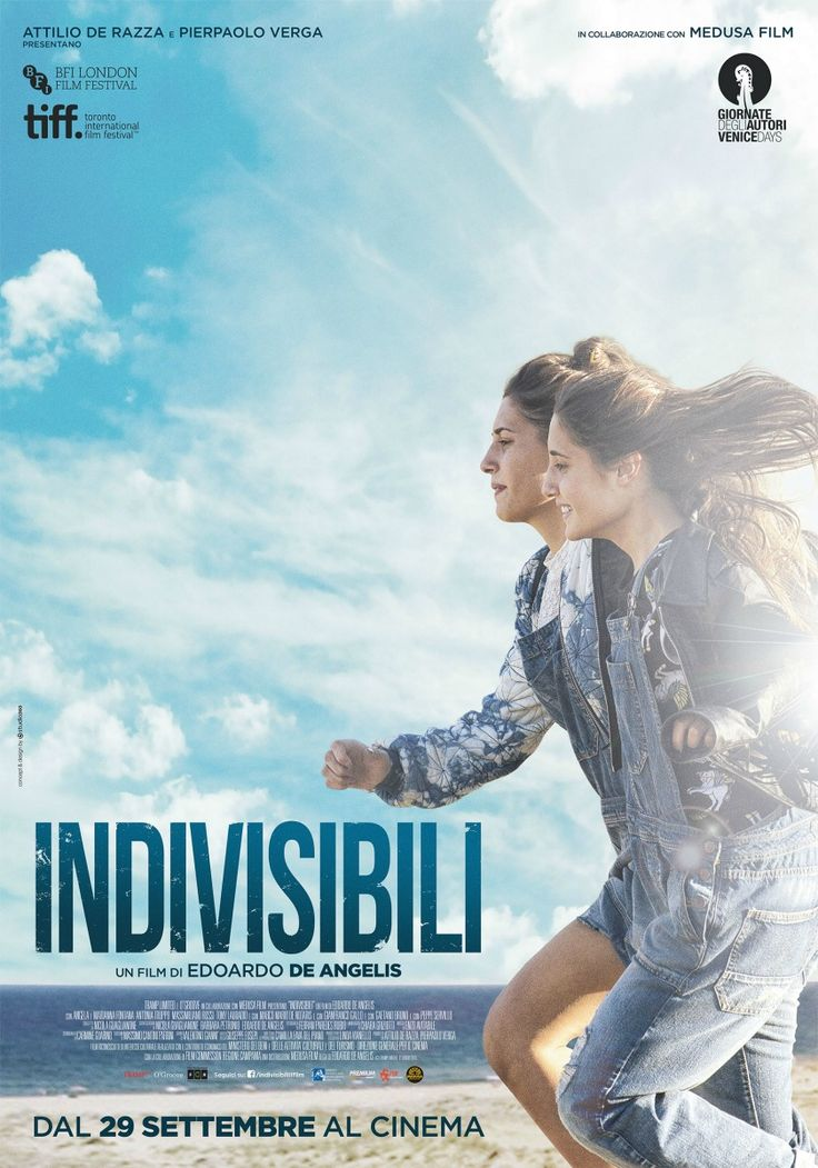 Indivisibili, scheda del film di Edoardo De Angelis con Angela e Marianna Fontana, leggi la trama e la recensione, guarda il trailer, scopri la data di uscita al cinema del film.