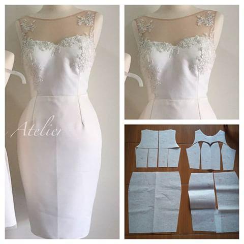 Tulle basic block with pencil skirt dress pattern. Simplicity is elegant. Order via line : @modelliste (with @) #modellistepattern #poladress #poladresstile #polatile #pencilskirt #tulledress #tulledresspattern #tulle #rokpensil #polarokpensil