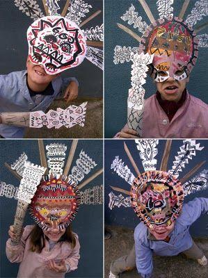 aztec head dresses CC cycle 1 wk 17
