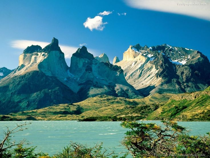Torres del Paine, Chile | Torres del paine chile wallpaper hd for free, Backgrounds #2350