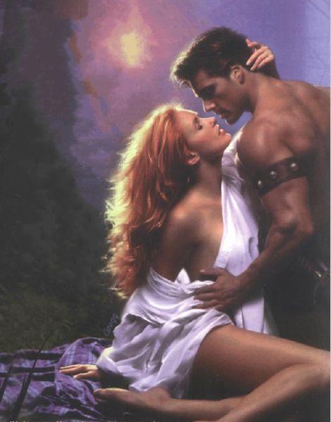 Romance cover art