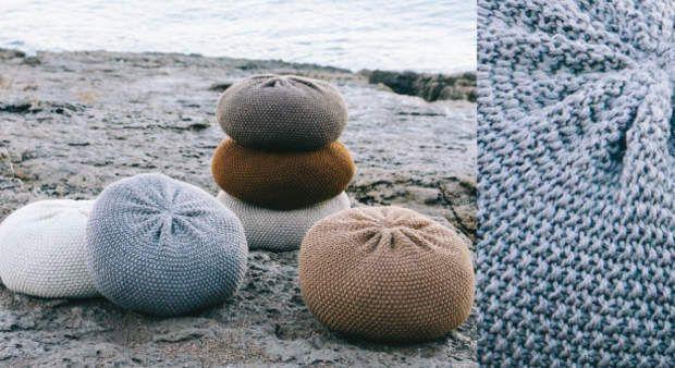 Les poufs au point de rizApprenez à tricoter la maille endroit et la maille envers pour vous offrir vos premières créations au tricot, des mini poufs bien dodus. A découvrir aussi, un plaid tout chaud.