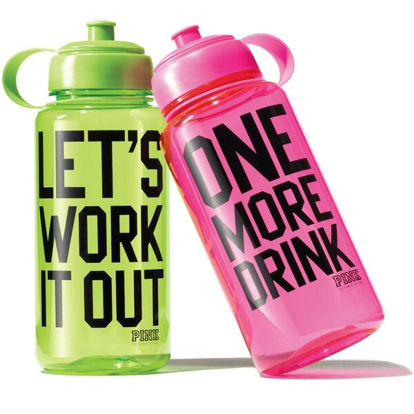 Cute water bottles: Fitness, Victoria Secret, Motivation, Pink, Victoria S Secret, Workout, Water Bottles