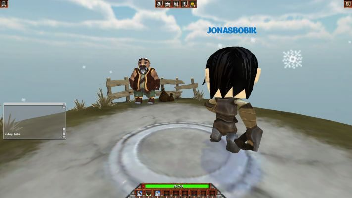 Genesis Online is a Free-to-play First Person, Multiplayer Adventure Game taking place in an editable procedural cubic world
