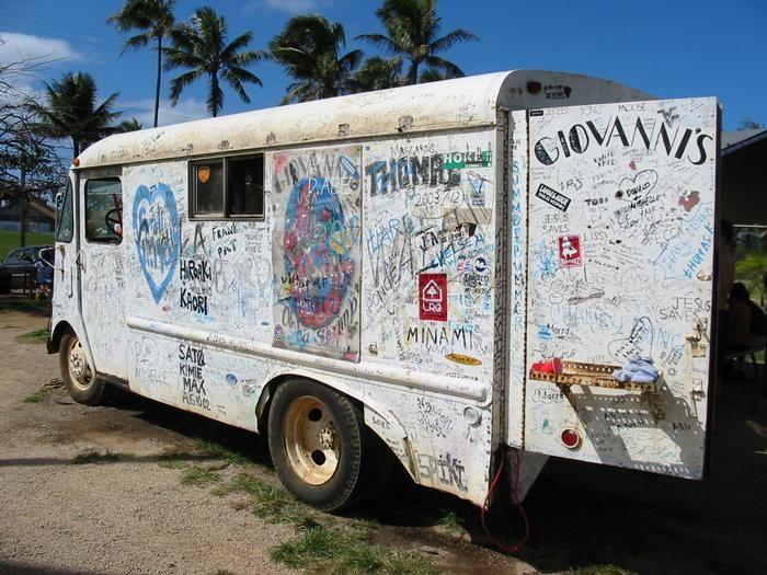 Giovanni's Shrimp Truck, Kahuku, HI