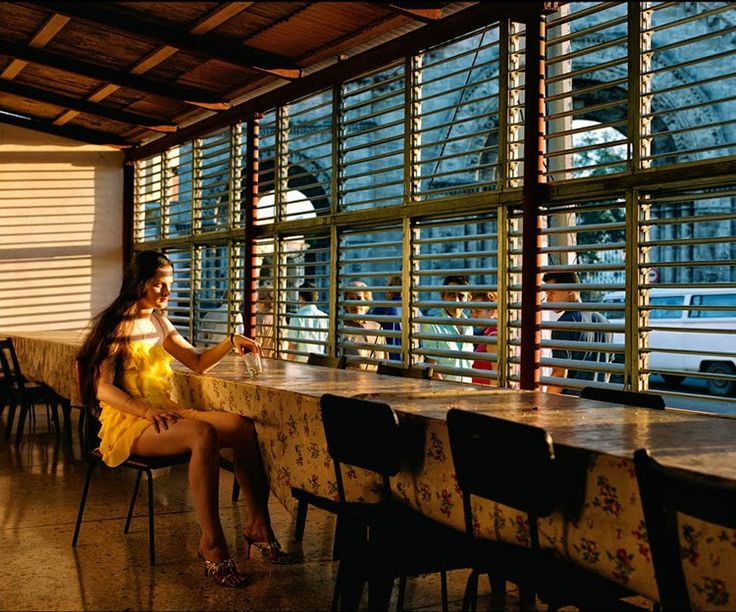 """Cuba libre"" / Photo: © Philip Lorca diCorcia for W magazine, march 2000 / stylefeelfree"