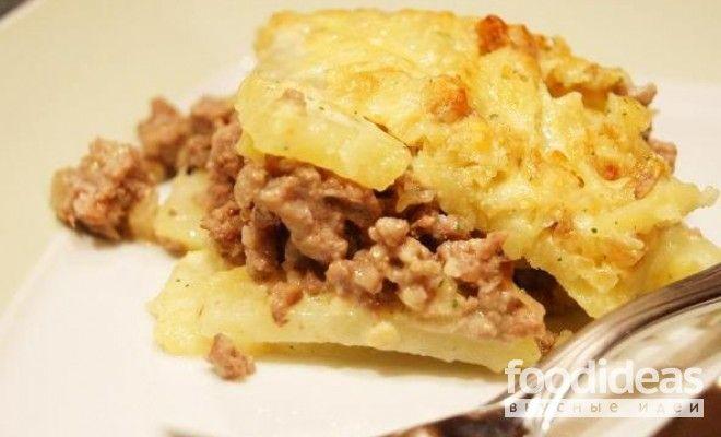 Картошка с фаршем в мультиварке - рецепт приготовления с фото | FOODideas.info