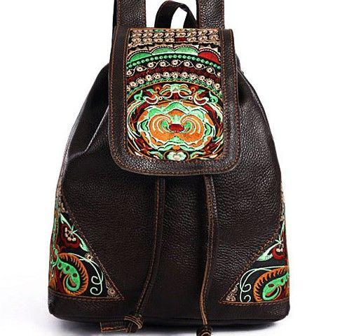 Купить женский кожаный городской рюкзак – Сумати