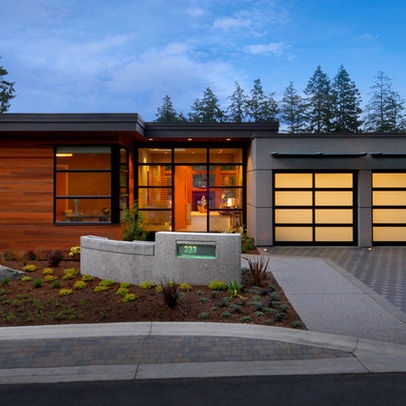 17 best images about mid century modern on pinterest for Contemporary front yard