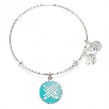 Alex and Ani's new Arrows of Friendship Bangle now available at #gracylane   Union • Bond • Direction