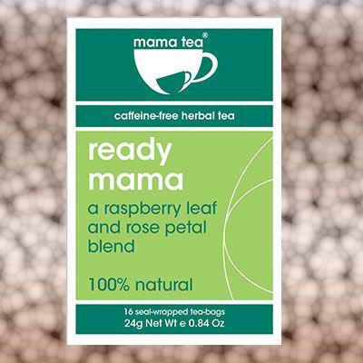 red raspberry leaf tea  - Ready Mama!