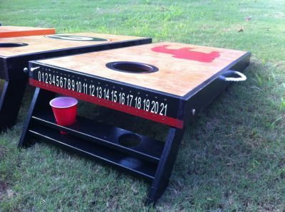 Love. Love. Love this!!!!!scoring idea and cup holders!! Genius!!! I Need this in my life!!