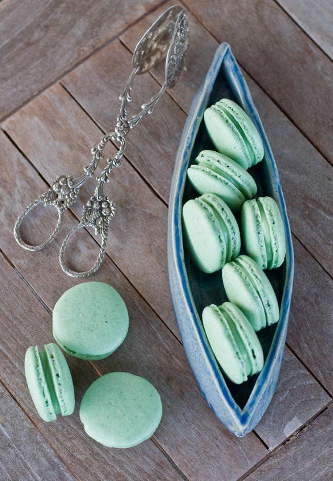Hugo Cocktail Macarons -esskunst blog #cakefriday