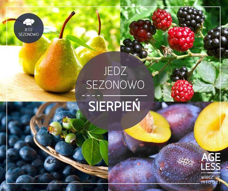 Przed nami jeszcze miesiąc kalendarzowego lata. Czy dobrze wykorzystaliście ten czas, jedząc zdrowe, sezonowe owoce? Jeśli jeszcze nie mieliście okazji, to już naprawdę ostatni gwizdek, by cieszyć się smakiem tych sezonowych pyszności! :)  #ageless www.ageless.pl #sierpien #gruszki #jezyny #jagody #sliwki #witaminy
