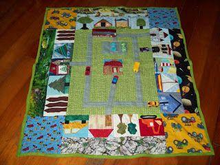 Linda Robertus: Play Quilt for Robbie