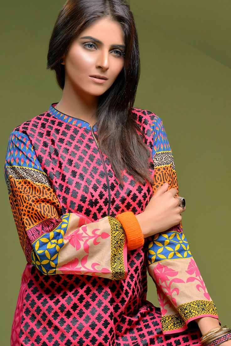 Product code: VRV-0761-LD JUST TOP fully embroided  Shop Online www.nimsay.pk