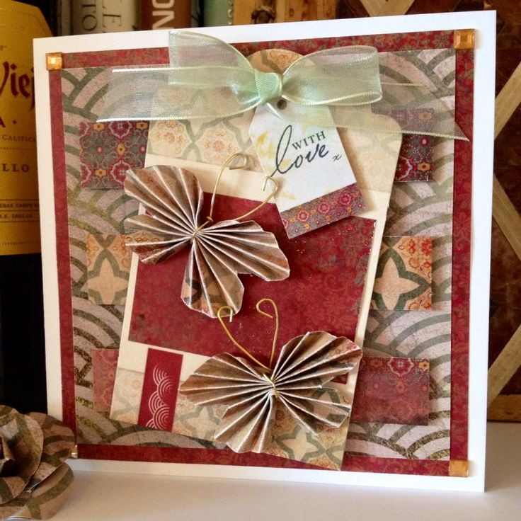 Designed by Nicky Gilburt for Craftwork Cards using Chinoiserie Collection. 15x15cm card