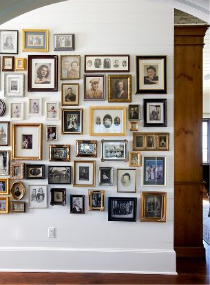 family portrait wall