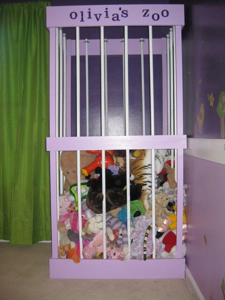Diy Stuffed Animal Zoo Playroom Pinterest Diy Stuff