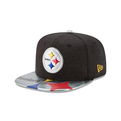Pittsburgh Steelers Hat New Era 2017 NFL Draft On Stage 9Fifty Snapback Cap