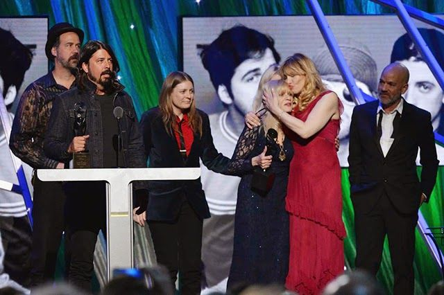 Nirvana en el Rock and Roll Hall of Fame 2014