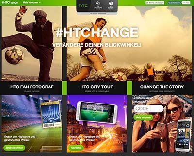 HTC Smartphone kaufen und gewinnen!