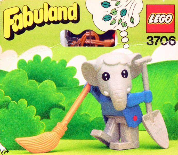 3706: Ernie Elephant  Fabuland, 1982