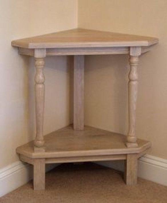 Corner Table Design Smallwoodcrafts In 2020 Corner Table Designs Small Corner Table Corner Decor