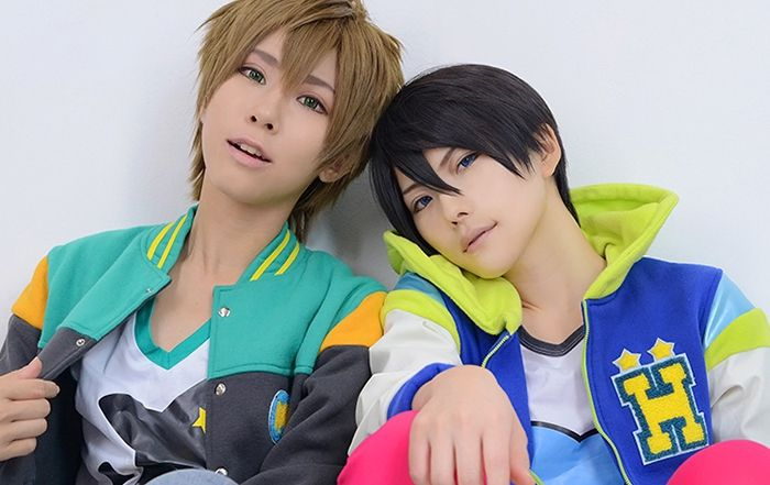 Free! Makoto and Haru my two favorites from the series.