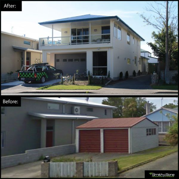 From shed to modern family home! #renovation #remodel #homeimprovement