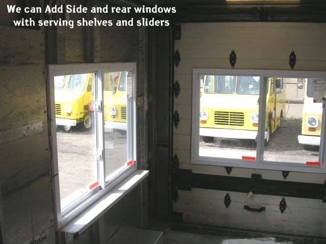 Ice Cream Shop Serving Windows We Cut And Fit Sliding