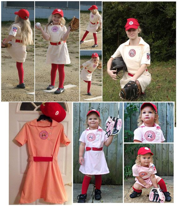 Vintage Baseball Uniform, and Dress Pattern with Coat Option Girls ...