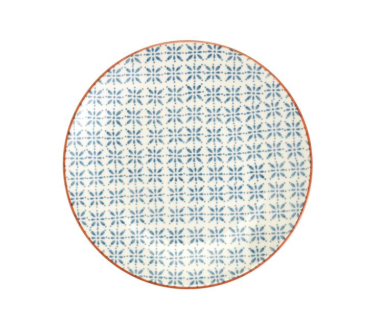 Mix and match this plate, inspired by Moroccan ceramics, with our other Pad Print design for an original eclectic look. Priced at £3.50.