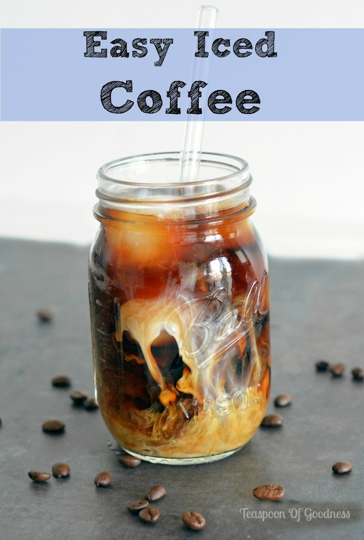 How to make iced coffee iced coffee recipe how to
