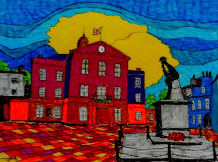 Town Hall Huntingdon
