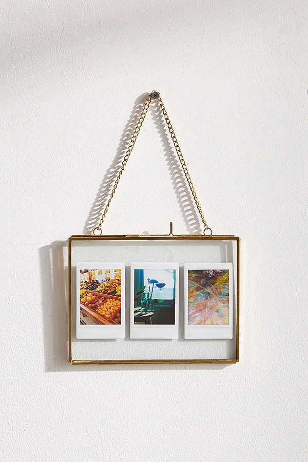 Urban Outfitters Hanging Glass Display Frame - 5x7