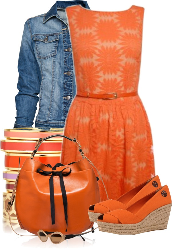"""Orange Contest #1"" by lifebeautiful ❤ liked on Polyvore"