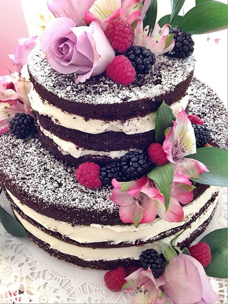 Unfrosted Wedding Cakes - Bing Images