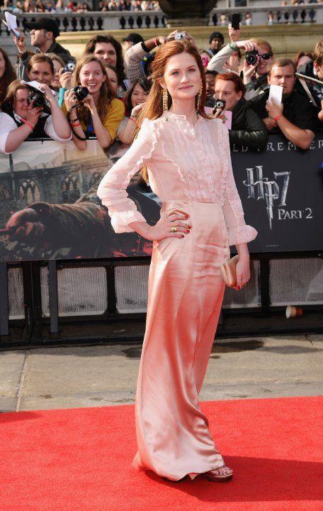 Bonnie Wright at event of Harry Potter och Dödsrelikerna: Del 2 (2011)