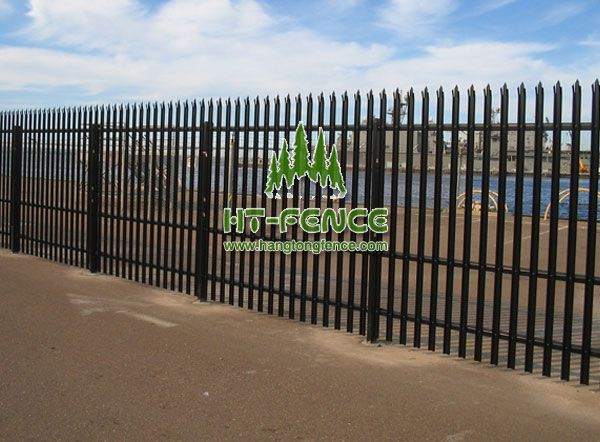 Die besten 25+ Palisade fence Ideen auf Pinterest blickdichte - gartenzaun metall anthrazit