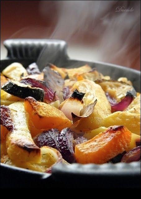 Szellem a fazékban: Sütőtökös tepsis krumpli