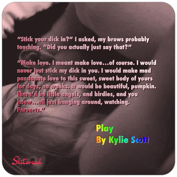 Mal and Anne, Play by Kylie Scott, via Slitsread review