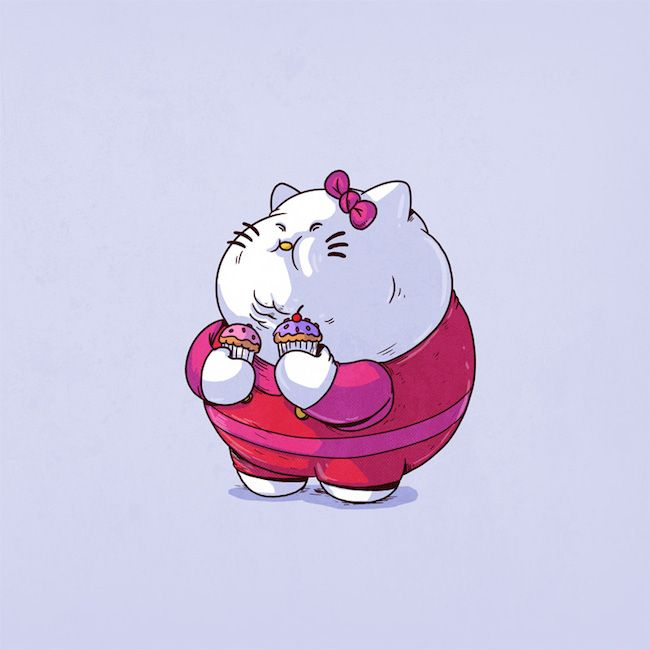 Chunky Hello Kitty