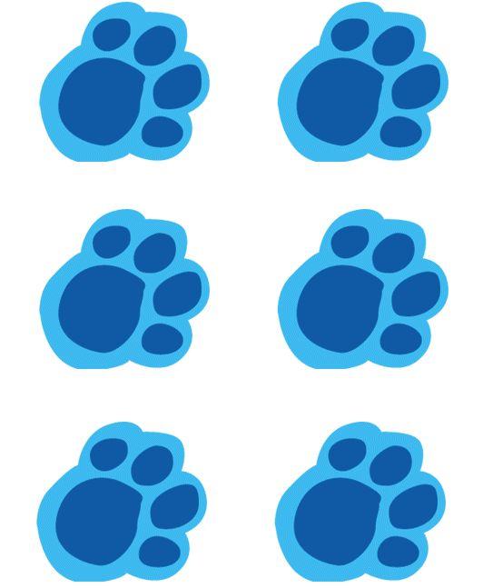 108 best Blues Clues Printables images on Pinterest