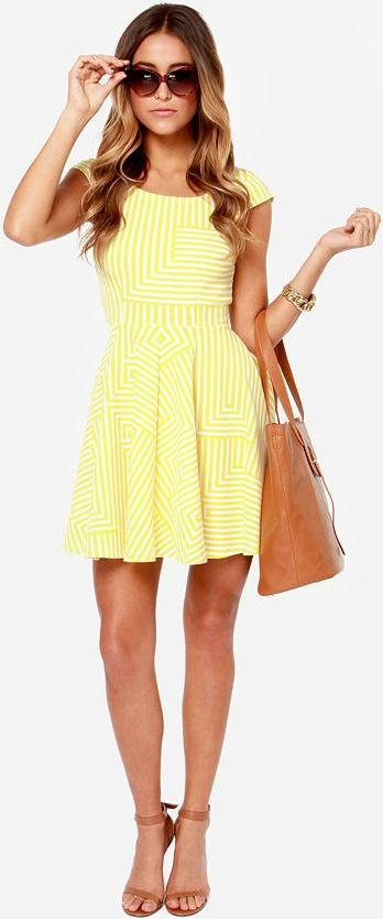 Perfect yellow sundress <3