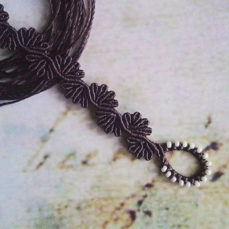 Hey there, long time no see 😉  #macrame #macramebracelet #handmadebracelet #handmadejewellery