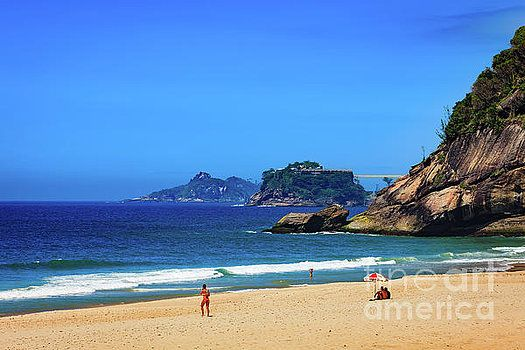 Rio de Janeiro, Brazil - Sao Conrado Beach by Devasahayam Chandra Dhas