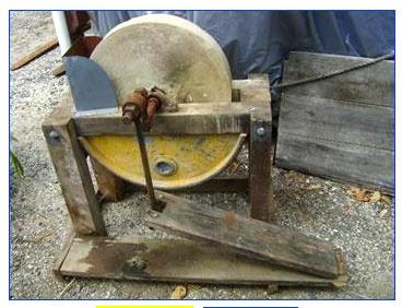 treadle grind stone and shaft | TEOTWAWKI | Pinterest ...